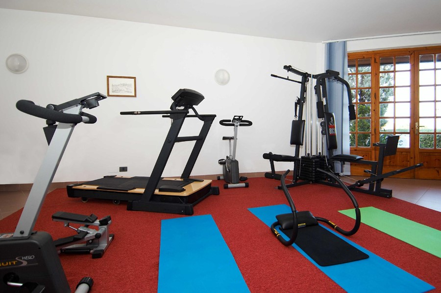 hotel village il gabbiano - fitness room